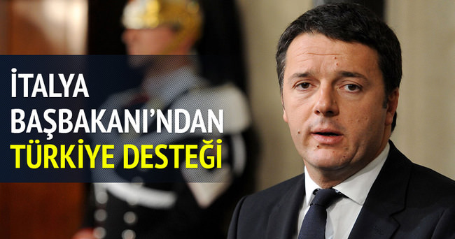 İtalya Başbakanı'ndan Türkiye'ye AB desteği