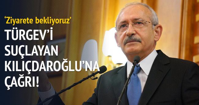 TÜRGEV'den Kılıçdaroğlu'na davet