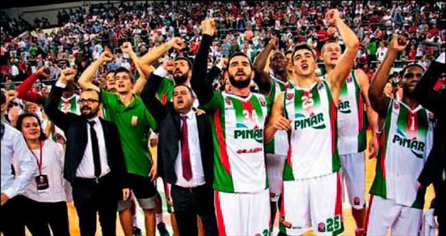 Pınar KSK'ye Arena morali