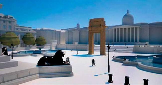 Palmira'nın kopyası Londra'ya dikilecek