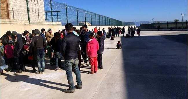 Didim'de 50 kaçak yakalandı