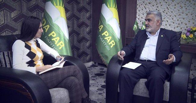 HÜDA PAR Genel Başkanı Yapıcıoğlu: Özyönetim ilanı doğru değil