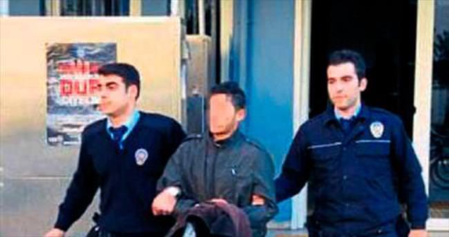 Horoz hırsızı polisten kaçamadı