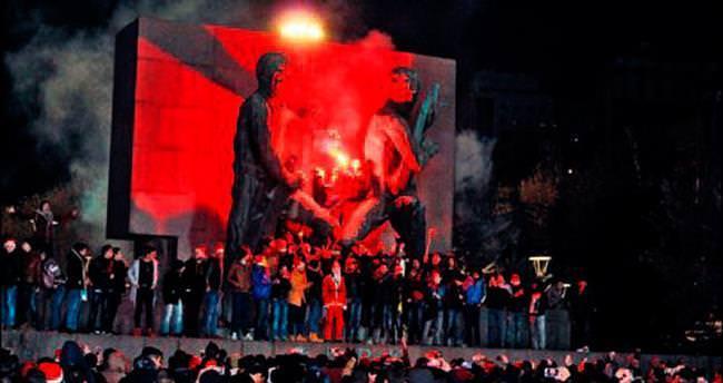 Kutlamaların merkezi Kızılay Meydanı oldu