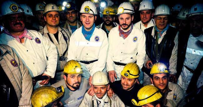 Kozlu madencileriyle 425 metrede yılbaşı