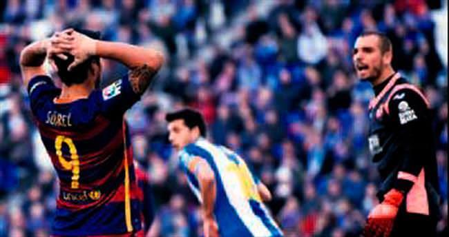 Barcelona derbide sessiz kaldı