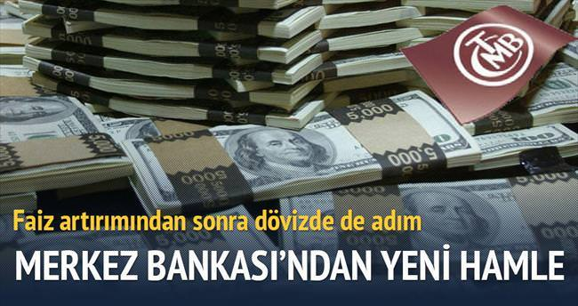 Merkez Bankası'ndan dövizde yeni adım