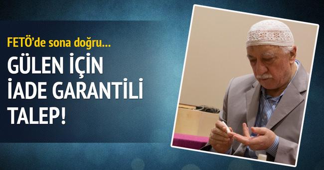 Fetullah Gülen için iade garantili talep