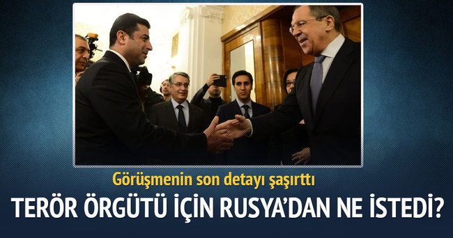 Demirtaş'ın Rusya'dan ne istediği ortaya çıktı!