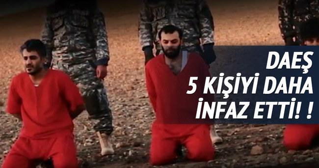 DAEŞ İngiliz casusu 5 kişiyi infaz etti