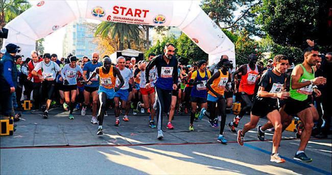 Maraton coşkusu