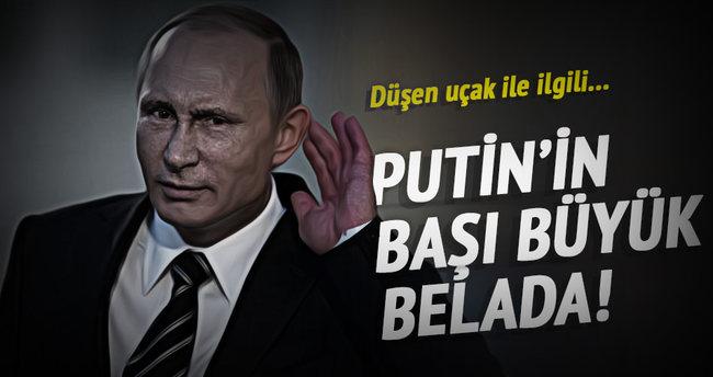 Putin'in başı büyük belada!
