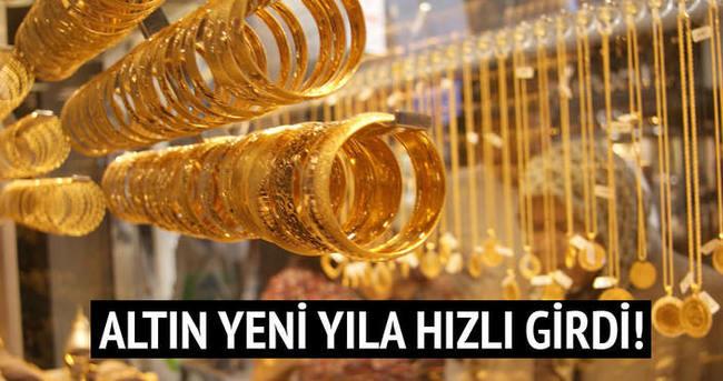 Altın yeni yıla hızlı girdi! Altın ne kadar?