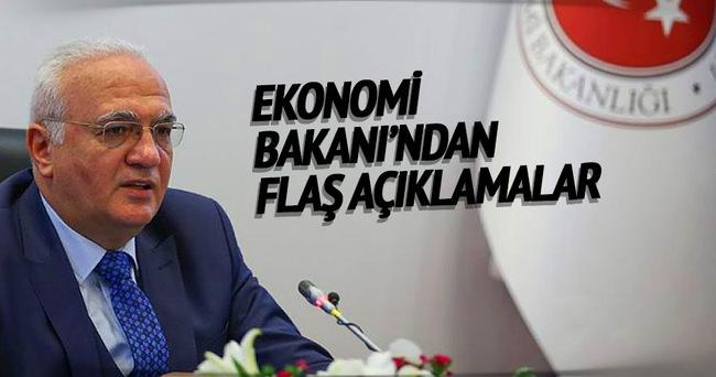 Ekonomi Bakanı'ndan flaş açıklamalar