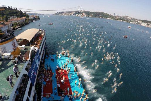 Boğaziçi Kıtalararası Yüzme Yarışı'na katılım süreci başladı