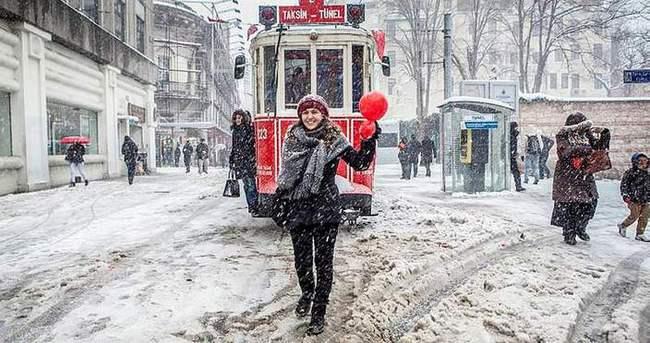 Yoğun kar yağışı ve fırtına uyarısı