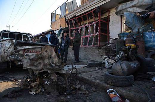 Kabil'de intihar saldırısı: 1 ölü, 30 yaralı