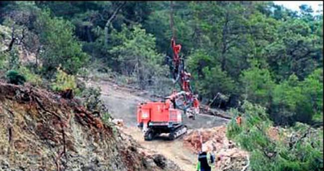 Alacasu- Phaselis tünel inşası başladı