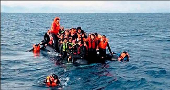 Ege'de geçen yıl 90 bin göçmen kurtarıldı