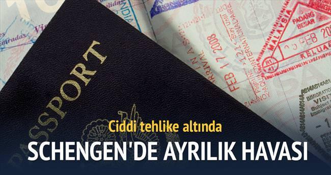 Schengen birliği tehlike altında