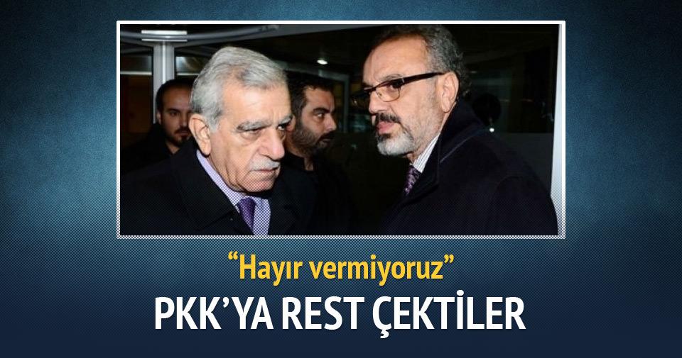 Kürt belediye başkanlarından PKK'ya rest!