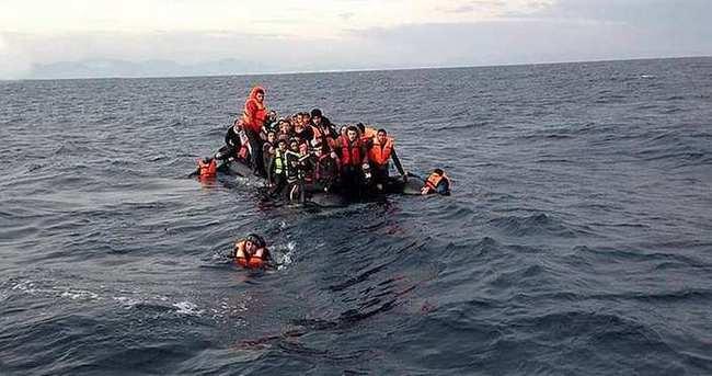 Dikili'de kaçak botu battı: 2 ölü