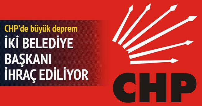 CHP'de büyük deprem