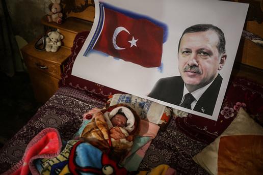 Gazzeli bebeğe Recep Tayyip Erdoğan ismi