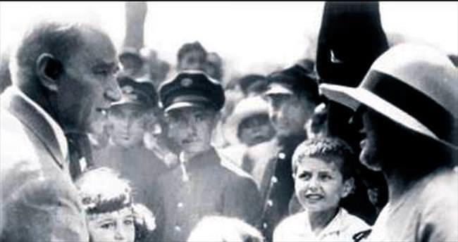 87 yıl sonra ortaya çıkan Atatürk fotoğrafları