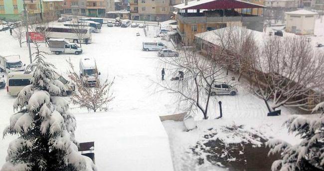 Adana'da okullara kar tatili