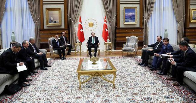 Cumhurbaşkanı Erdoğan, Microsoft CEO'sunu kabul etti