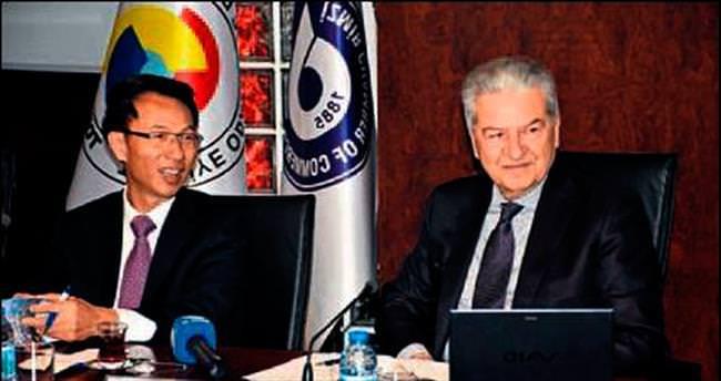 Çin heyeti İzmir'de denge arayışında