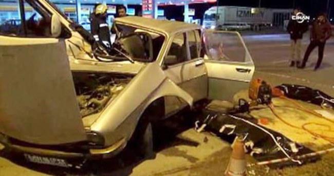 Manisa'da feci kaza: 1'i çocuk 4 ölü