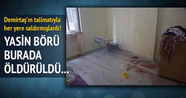Yasin Börü bu evde öldürüldü!
