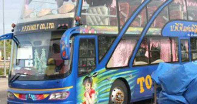 Tayland'da iki katlı otobüsler yasaklandı