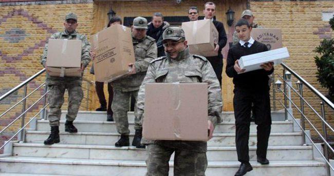 Asker eşlerinden duygulandıran destek