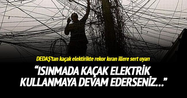 DEDAŞ uyardı: Elektriği ısınmada kullanmayın!