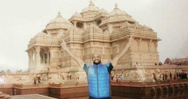 Tatile gittiği Hindistan'da film teklifi aldı