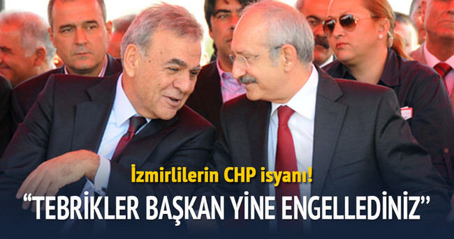 Karşıyaka ve Göztepe'den CHP'ye ortak tepki
