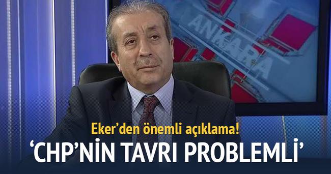 'CHP'nin tavrı problemli'