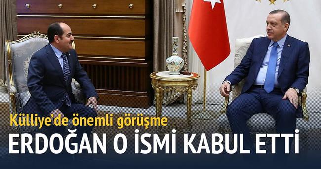 Cumhurbaşkanı Erdoğan Firas Doğancı'yı kabul etti·