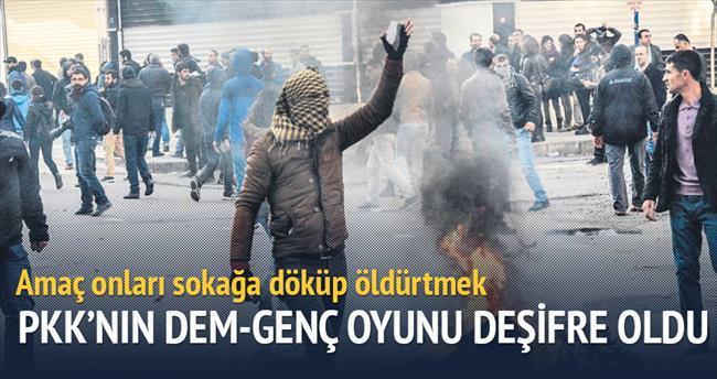 PKK'nın Dem-Genç oyunu