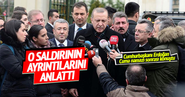 Cumhurbaşkanı Erdoğan: Türk askerlerinde herhangi bir şey yok