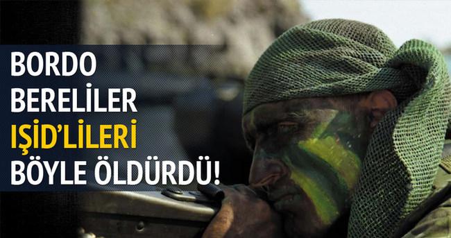 Türk askerleri IŞİD'lileri böyle öldürdü!