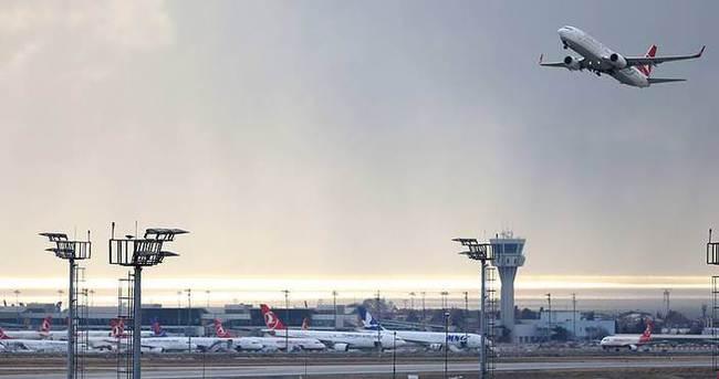 Türk hava sahası 'yarım dakika' boş kalmadı