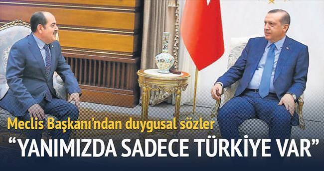 'Tek müttefik Türkiye'