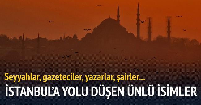 İstanbul'a yolu düşenler