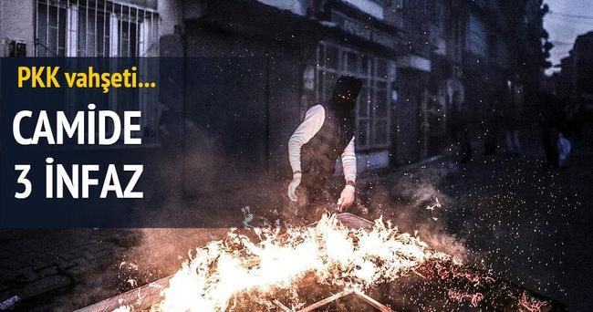 PKK vahşeti: Camide 3 infaz