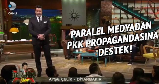 Paralel medyadan PKK propagandasına destek!