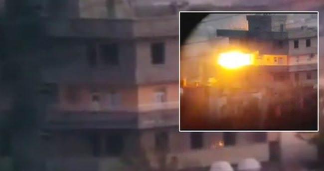 3 katlı bina PKK'ya mezar oldu